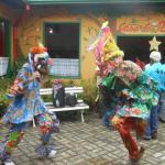 A dança dos Marungos.
