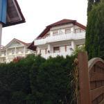 View from walkway to Landhaus Mueller