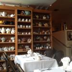 They have a collection of teapots that are beautifully made