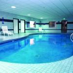 Relax in our Indoor pool, open 24 hours for your convenience.