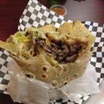 Carna Asada Burrito (Cali Style +Guac; No Sour Cream)