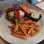 The Motorman Burger at the Red Car