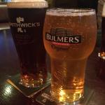 Smithwick's and Bulmers - two of my favorite drinks