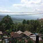 veiw off northern balcony toward bali's north coast @ 30min away