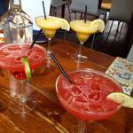 Watermelon Margarita and Mango Chilli Margarita