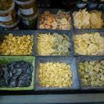 Pâtes fraîches importées d'italie