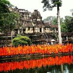 Monges em Siem Reap.