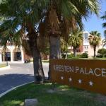 entrée de l'hôtel Kresten