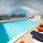 piscine couverte en mi-saison
