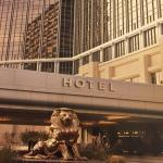 Arriving to the MGM Grand