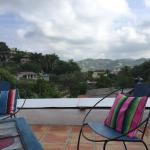 the rooftop terrace: we had such a relaxing time