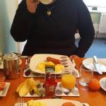 El desayuno estupendo