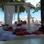 Adults only paid cabana area