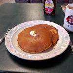 Sweet Potato Pancakes- short stack