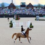 Show time at Tryon International Eq Center