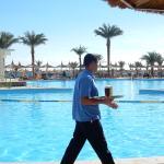 Service am Pool