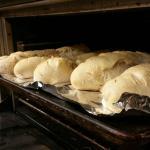 Fresh bread from fresh dough