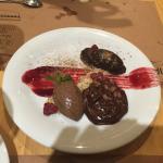 postre de 3 chocolates INCREIBLE TAMBIEN!!!