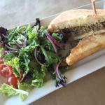 Lamb Focaccia / Rocket Salad