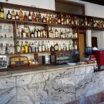 Mostrador del bar. Mantiene el estilo clásico de los boliches Montevideanos