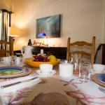 The inside  dinning room
