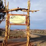 Road from Kanab to Juniper Ridge Restaurant