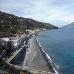 The coastline of Lipari