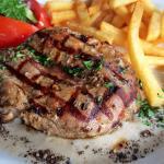 "Grilled Tenderloin Steak ""Poivre Creme"""