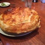 Turkey Pot Pie with Carrots, Leeks & Celery. This is huge!