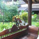 our villa's verandah