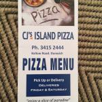 CJ's Island Pizza
