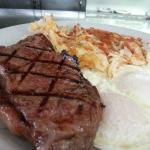 Gills Diner Steak and Eggs