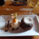 Chocolate Fondant, nice and gooey!