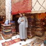 Medina Berber rugs Souk