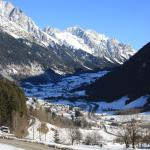 view from the house to Anterselva (Antholz)