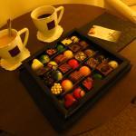 Tea and coffee in Superior room at Le Regina