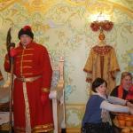Охрана у царского трона