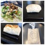 A small burrito in the making