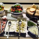 Fantastic Israeli breakfast buffet