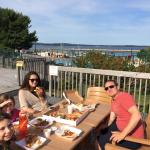Oceanview pizza supper