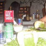Camarón al coco en Evoke