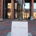 Statue of Hanson and Plinth