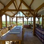 Oak Room dining and sitting room