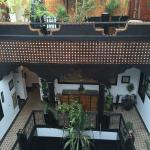 The layout of the Riad