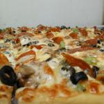 Letterman pizza. Outstanding......