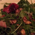 beet salad with arugula
