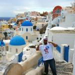 Me in Oia