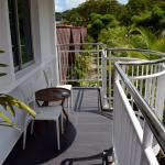 White Lodge Motel Room Balcony