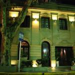 Miravida Facade at Night