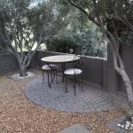 Private terrace area